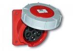 125A-4P-400V-6H-IP66/67 Ổ cắm gắn âm loại kín nước