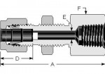 Bulkhead Female NPT Connector 1/8