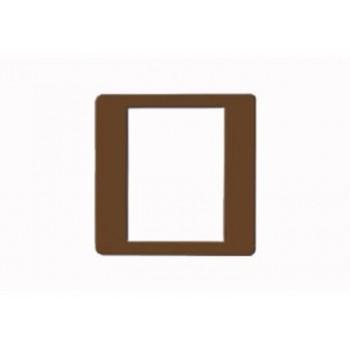 Mặt viền đơn màu nâu (vuông) B1S/BR