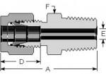 Male Connectors 6mm
