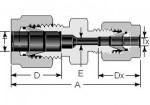 Reducing Union 6mm
