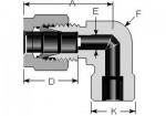 Tube Socket Weld Elbow 1/4